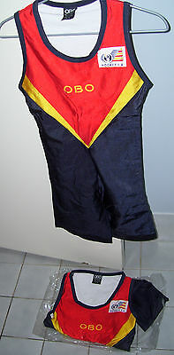 2 Hockey Sa One Piece Girls Youth  Suits Size 10