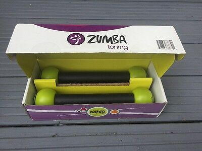 Zumba Toning Sticks. 2 Sticks Never Used. Brand New & Boxed.
