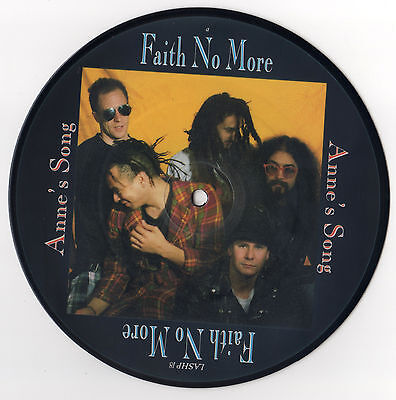 """FAITH NO MORE Anne's Song UK 7"""" Picture Disc Vinyl Record Single ULTRA RARE!"""