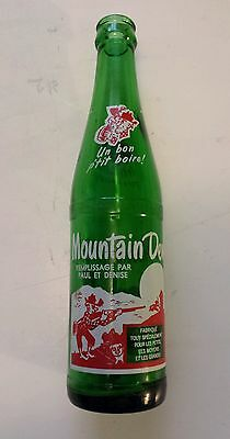 "Rare French-Canadian  ""mountain Dew"" 10 Oz ""remplissage Par Paul Et Denise"""