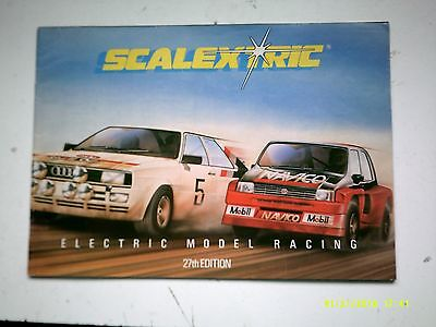 Scalextric 27th Catalogue 1986 Blow Out Action Specials Ford XR3i Near Mint