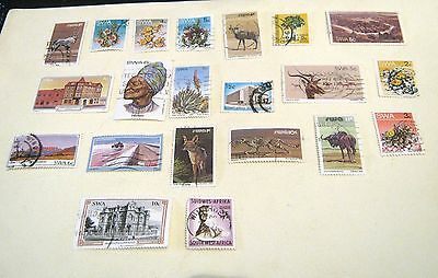 Small collection of Stamps SWA South West Africa good starter selection
