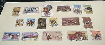 Stamp collection of SWA South West Africa (modern day Namibia) starter set