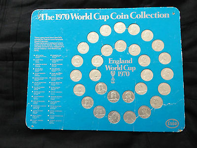 The 1970 World Cup Coin Collection
