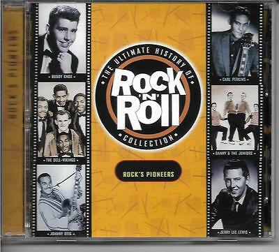 The Ultimate History Of Rock 'N' Roll Collection ~ Rock's Pioneers (CD) NEW