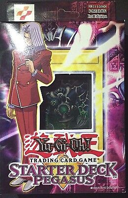 Yu-Gi-Oh  PEGASUS 1ST EDITION STARTER DECK FACTORY SEALED FREE EXPEDITED  SHIP