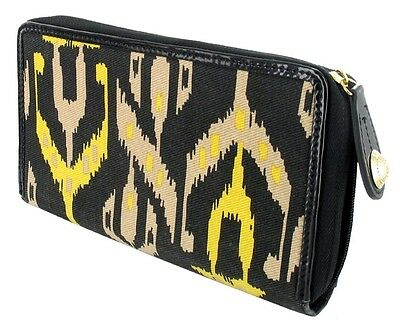 Filofax Compact Clutch bag with Zip Around Diary Organsier Temperley IKAT NEW