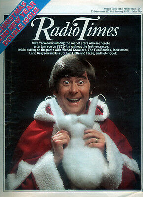 Radio Times 23 Dec 1978 - 5 Jan 1979 . Christmas & New Year Issue. Julie Andrews
