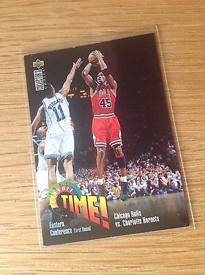 Michael Jordan Upper Deck NBA Basketball Trading Card Vintage