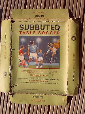 Subbuteo set from1960s - Continetal Club Edition