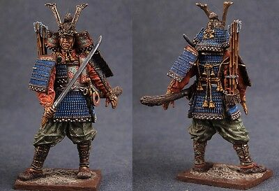 Tin toy soldiers ELITE painted 54 mm   Japanese Samurai with Tachi