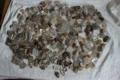 100 Pieces Natural Gold Hair Rutile Quartz Crystal Points Polished Healing Bulk