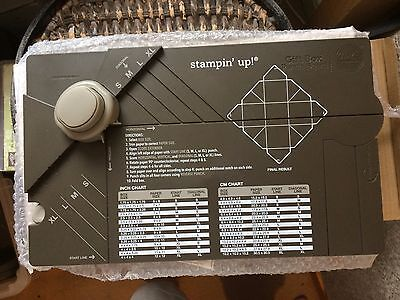 Stampin' Up Gift Box Punch Board