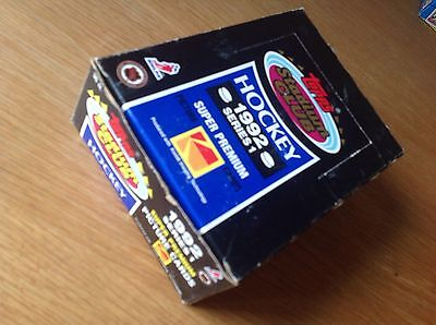 Unopened Box 1992 Stadium Club NHL Ice Hockey Trading Cards USA Imports