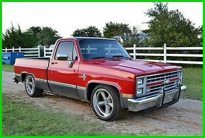 1986 Chevrolet Other C10 1986 C10 Chevy Pickup Truck Short Bed, Square Body, AC, V8, MUST SEE