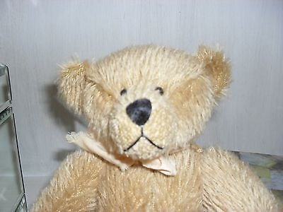 Mohair Teddy Bear New Limited Edition Barnstable With Certificate