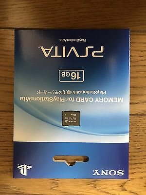 New Original Official Genuine PSV Playstation Sony PS Vita 16GB Memory Card