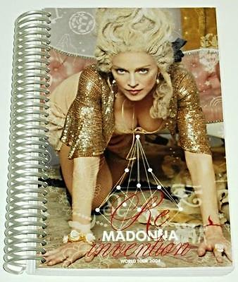 Madonna - Re-InventionTour 2004 Crew only Tour Itinerary Official book