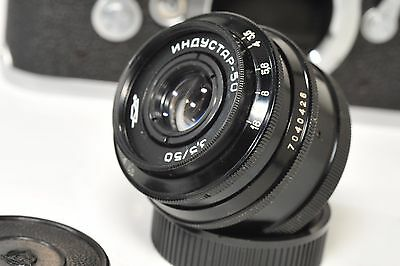 INDUSTAR 3.5,/50 mm, M39/ LTM screw for Leica, Voigtlander rangefinder from 1970