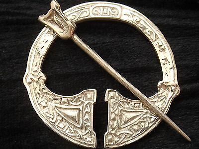 Sterling Silver Brooch   Penannular  Ritchie Design