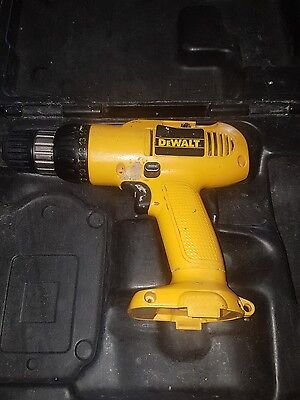 Dewalt 18v drill and case (no battery or charger)