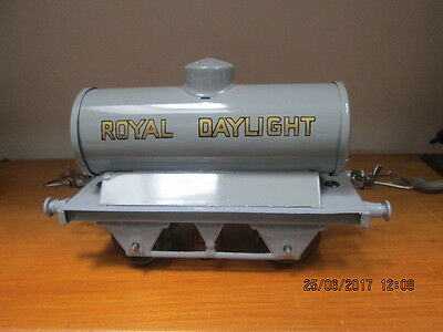 Hornby 0 Gauge ( Re-Finished ) Petrol Tanker ( Royal Daylight ) Type 4 Chassis