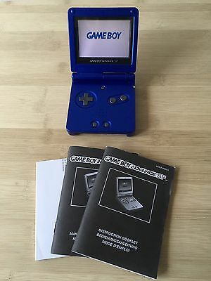 Nintendo Game Boy Advance SP Bleu en boite