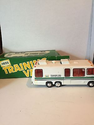 Vintage HESS Training Van 1978/1980 Rare With Box Battery Card Gasoline Station