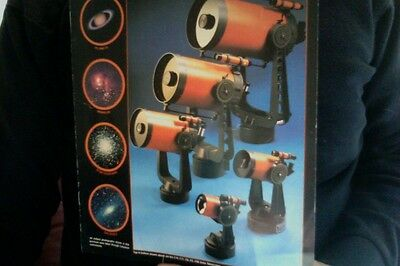 Celestron - Dealer 35mm Slide Set (20) Vintage + (6) Page Sales Catalog - 1981