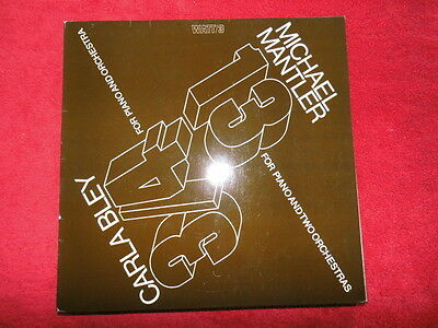W030  Michael Mantler 13,Carla Bley 3/4    Watt/3  Promo  White Label  neuwertig