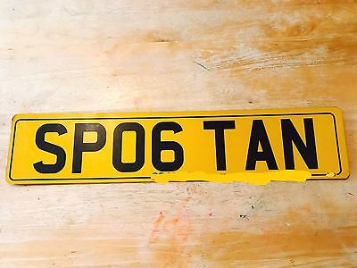 Personalised Number Plates SP06 TAN