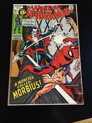 Amazing Spider-Man 101 - FIRST Appearance of Morbius!! Bronze KEY