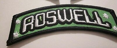 "ROSWELL UFO ALIEN ""1"" PATCH AREA 51 SOUVENIR COLLECTIBLE 4x1 INCHES #75"