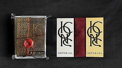 Icons Playing Cards (Imperial, Signature & Reversed) 3 Decks by Lotrek (RARE)