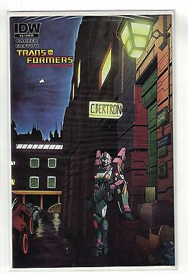 Transformers comic #12 Ziggy stardust David Bowie cover cybertron IDw 2012