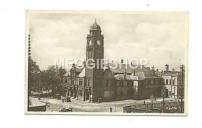 Scotland: Lanarkshire: Motherwell The Town Hall - Old Postcard