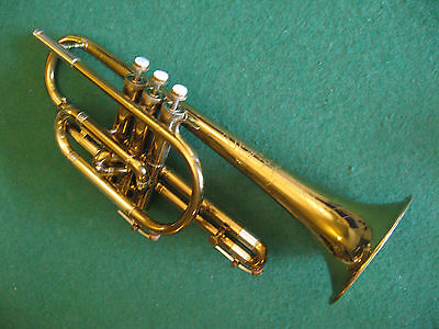 Holton Collegiate Cornet 1954 - Refurbished & Play Ready - Great Player!