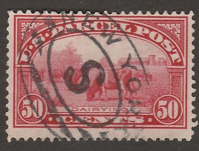 USA Scott #  Q 10 Parcel Post 50 cent Dairying Used (q10-2)
