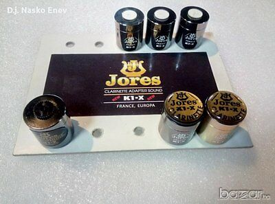 Jores K1-X Clarinet / Sax Pickup Microphone with Volume Control (Made In France)