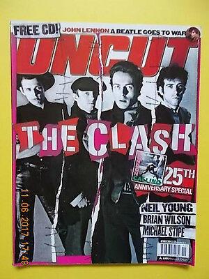 UNCUT * OCT. 2004 * THE CLASH 25th ANNIVERSARY 18-PAGE COVER STORY *  SUPERB!