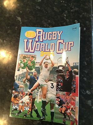 1991 Rugby World Cup Special Brochure