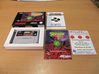 SNES Super Nintendo , SPAWN , THE VIDEO GAME,  OVP - TOP