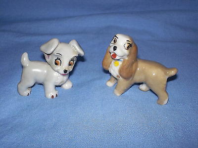 Wade Lady And The Tramp Figures (Lady & Scamp)