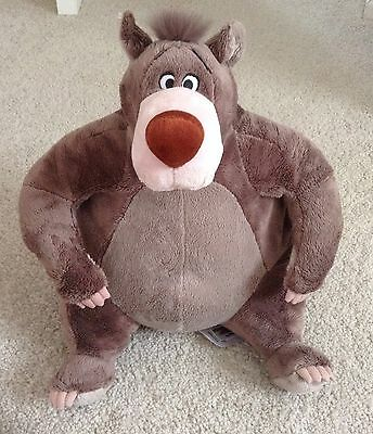 Disney Store Baloo Soft/Plush Toy - The Jungle Book