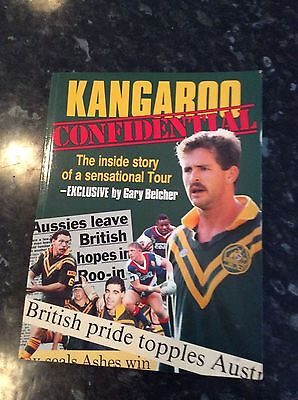 Signed Australian Book Kangaroo Confidential 1991 Signed By Gary Belcher / Heads