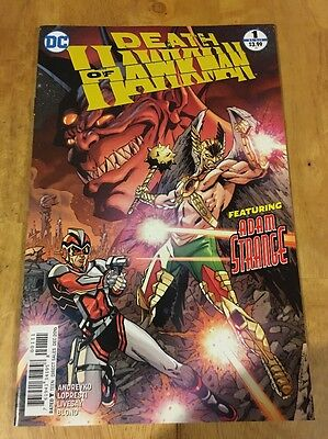 Death of Hawkman #1, Cover A!! NM!!