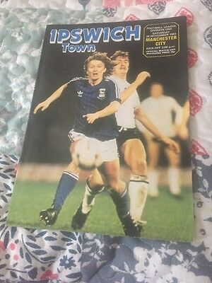 1981 Ipswich town Fc Vs Manchester City