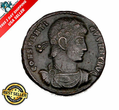 Ancient Coin House: CONSTANTINE The GREAT. BRONZE COIN. IMPERIAL ROMAN EMPIRE