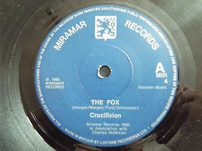 Nwobhm/punk-Crucifixion-The Fox/death Sentence-Miramar Mir4