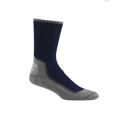 Wigwam Hiking/Outdoor Pro Socks, Midweight Synthetic, Navy/Pewter, M